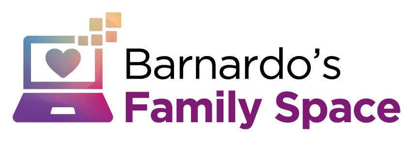 Barnardo's Family Centre logo - long - colour